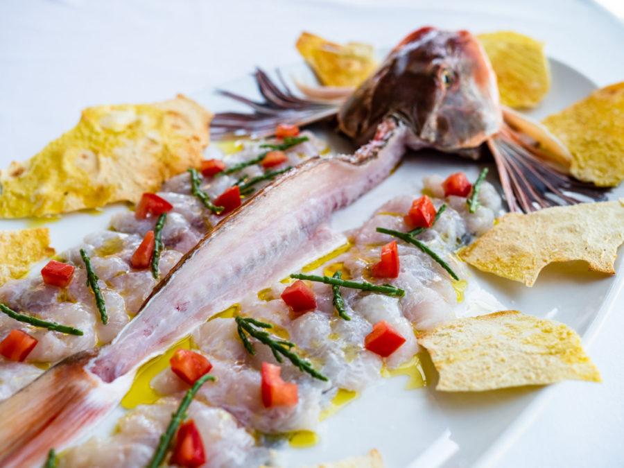 """""""Al Cuoco di Bordo"""" il pesce crudo è al top in Italia"""